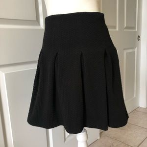 "Anthropologie ""Maeve' Knit Skirt, Black, Sz 0"
